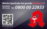 Apotheken-Notdienstkarte Typ A