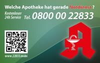 Apotheken-Notdienstkarte Typ C