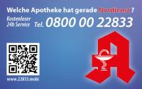 Apotheken-Notdienstkarte Typ N