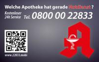 Apotheken-Notdienstkarte Typ O
