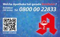 Apotheken-Notdienstkarte Typ Q